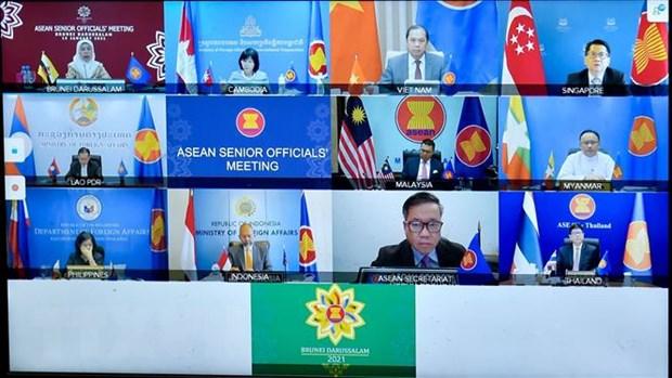 Ra soat cong tac chuan bi cho Hoi nghi cap cao ASEAN lan thu 38, 39 hinh anh 1