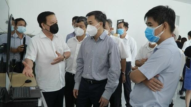 Thu truong Tran Van Thuan: Bo Y te chua mua test khang nguyen nhanh hinh anh 2
