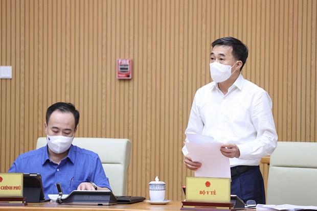 Thu truong Tran Van Thuan: Bo Y te chua mua test khang nguyen nhanh hinh anh 1