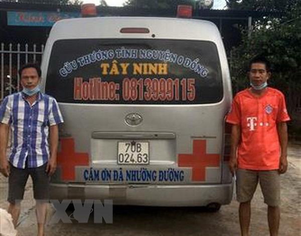 Gia Lai: Xu phat tai xe dieu khien xe cap cuu cho nguoi trai phep hinh anh 1