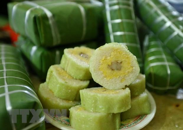 Tuc goi va dang cung banh chung vao dip Tet Nguyen dan hinh anh 1