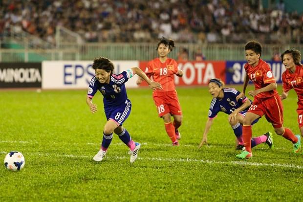 Ban ket Viet Nam - Nhat Ban 0-3: An tuong Dang Thi Kieu Trinh hinh anh 3