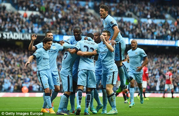 Man City - Manchester United 1-0: Aguero