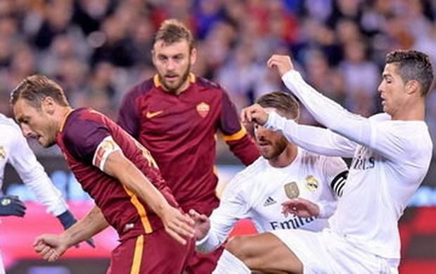 AS Roma danh bai Real Madrid sau man