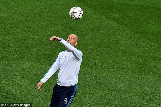 Zidane va Simeone noi gi truoc chung ket Champions League? hinh anh 1