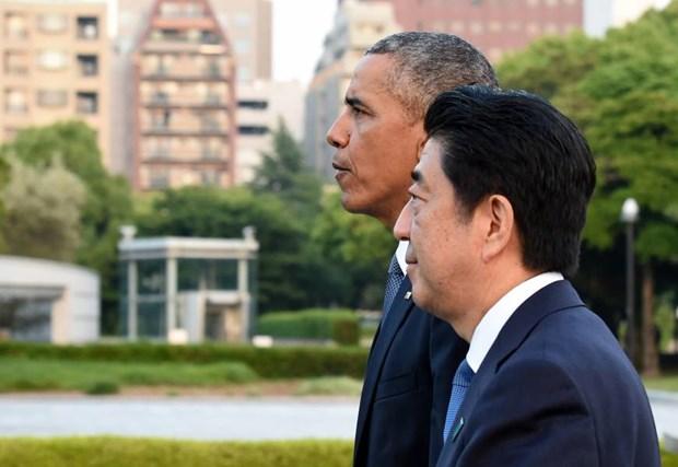 Chuyen tham Nhat cua ong Obama va su khac biet ve loi xin loi hinh anh 1