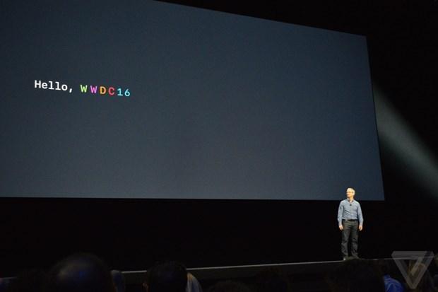 Toan canh su kien WWDC 2016 ra mat iOS 10 va MacOs cua Apple hinh anh 2