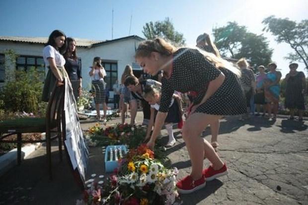 Tuong niem nan nhan xau so vu roi may bay MH17 o Ukraine hinh anh 1