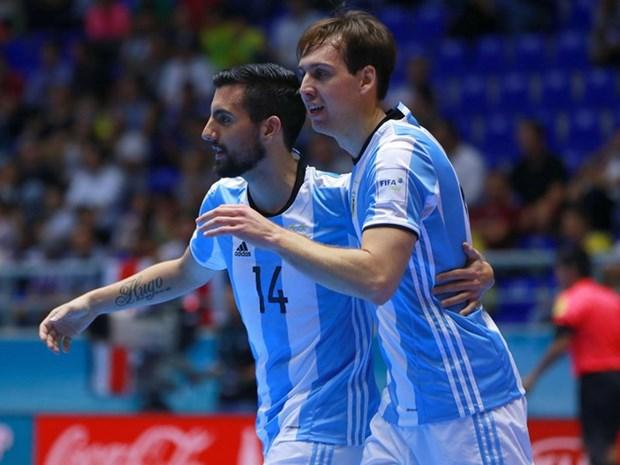 Futsal World Cup: Xac dinh 5 doi vao vong 1/8, Viet Nam gap kho hinh anh 1