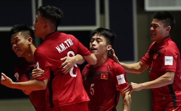 Doi tuyen Futsal Viet Nam can dieu kien gi de vao vong 1/8? hinh anh 1