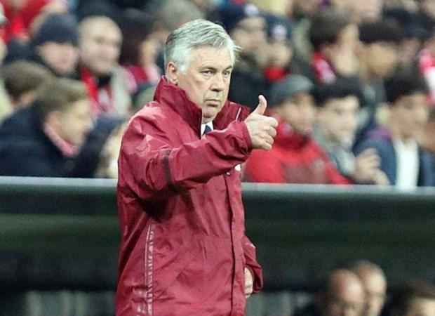 Bayern Munich-Carlo Ancelotti da qua