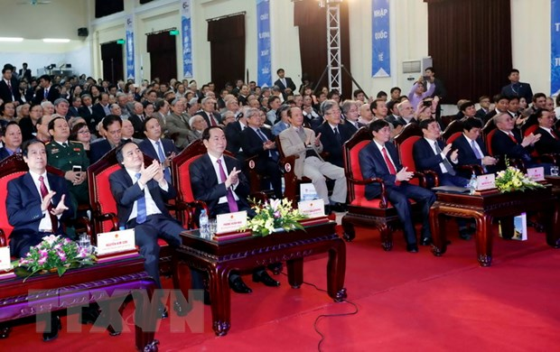 Truong Dai hoc Khoa hoc Tu nhien nhan Huan chuong Ho Chi Minh hinh anh 2