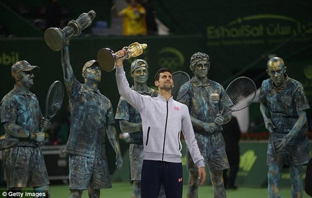 Ha guc Murray, Novak Djokovic gianh chuc vo dich Qatar Open hinh anh 1
