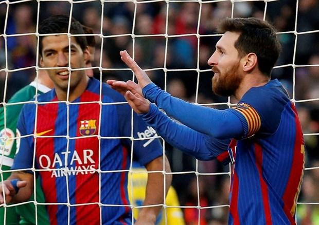 Thang dam 5-0, Barcelona
