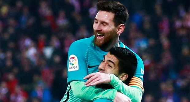 Bao than Real Madrid than phuc sieu pham cua Suarez va Messi hinh anh 1