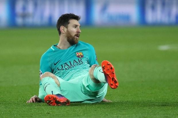Thong ke soc ve Messi trong tham bai cua Barcelona truoc PSG hinh anh 1