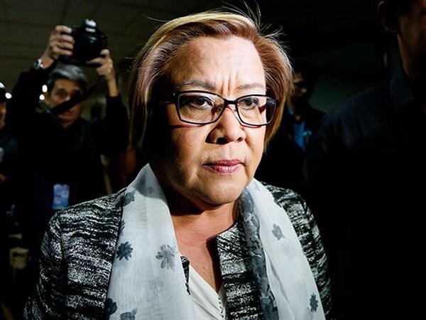 Philippines: Toa an yeu cau bat giu Thuong nghi sy Leila de Lima hinh anh 1