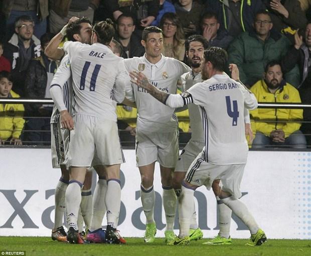 Real nguoc dong ha Villarreal nho qua penalty tuong tuong hinh anh 1