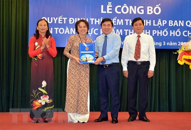 Thanh pho Ho Chi Minh ra mat Ban quan ly An toan thuc pham hinh anh 1