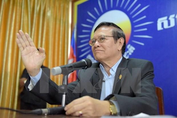 Bo Noi vu Campuchia cong nhan ong Kem Sokha la chu tich CNRP hinh anh 1