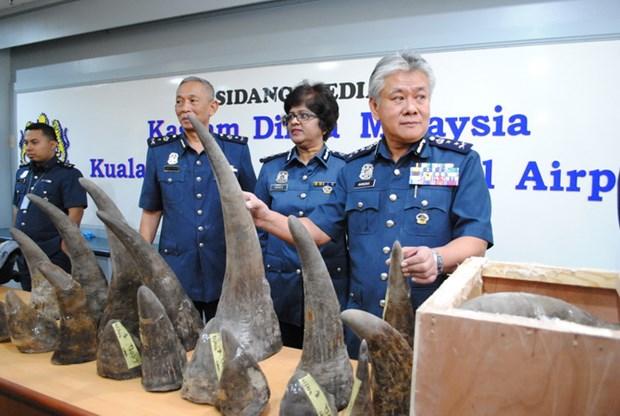 Malaysia thu giu so luong sung te giac tri gia 3,1 trieu USD hinh anh 1