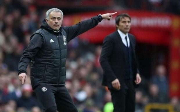 Trong mot cuoc chien, Jose Mourinho van hay hon Antonio Conte hinh anh 1