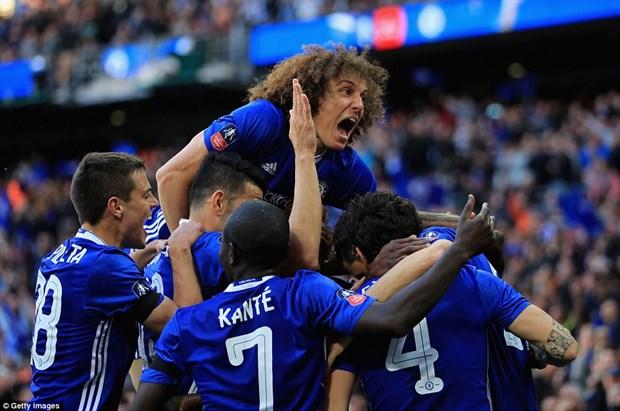 Chelsea vao chung ket sau chien thang tung bung truoc Tottenham hinh anh 1