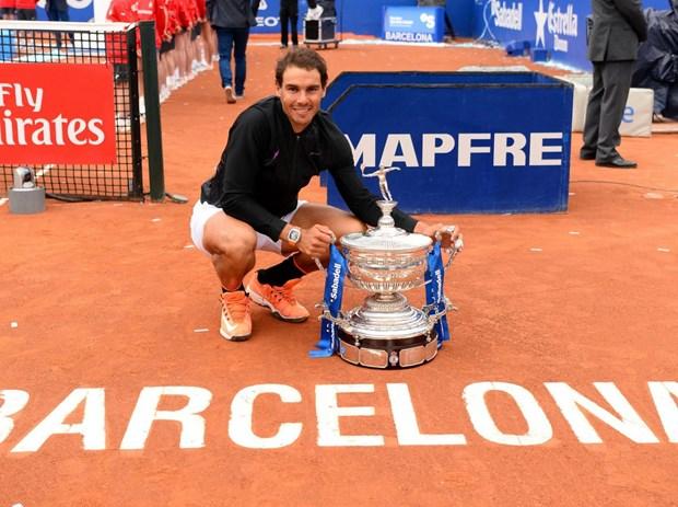 """Nadal noi gi sau khi lap ky luc """"vo tien khoang hau"""" o Barcelona? hinh anh 1"""