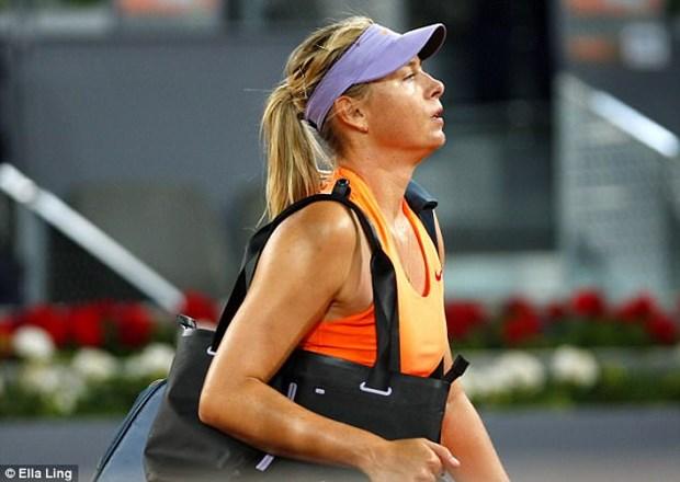 "Maria Sharapova bai tran truoc Bouchard o ""cuoc chien sac dep"" hinh anh 1"