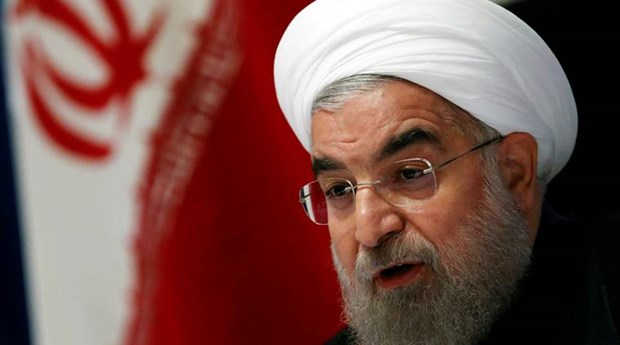Tong thong Iran Rouhani yeu cau IRGC khong can thiep bau cu hinh anh 1