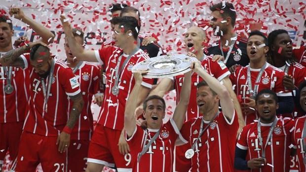 Nhung thong ke thu vi nhat cua Bundesliga mua giai 2016-17 hinh anh 1