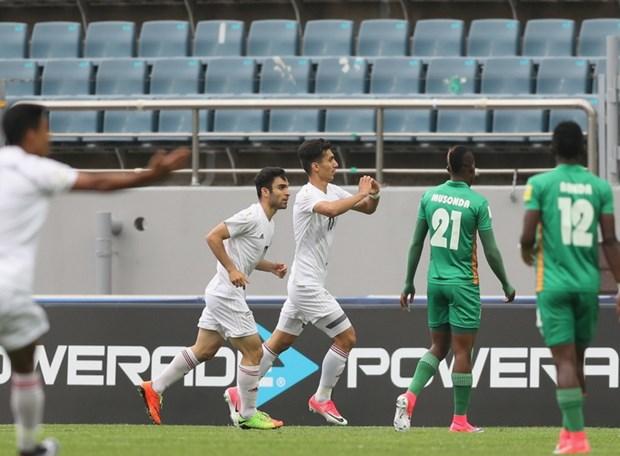 Nguoc dong ha Iran, U20 Zambia tro thanh doi thu 3 vao vong 1/8 hinh anh 2