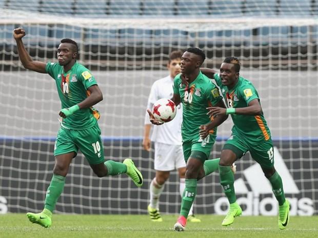 Nguoc dong ha Iran, U20 Zambia tro thanh doi thu 3 vao vong 1/8 hinh anh 1