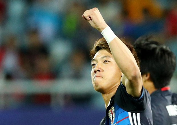 U20 World Cup: Nhat Ban ruot duoi ngoan muc gianh ve di tiep hinh anh 1