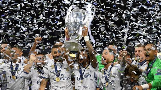 Real lap nhieu ky luc trong ngay dang quang Champions League hinh anh 1
