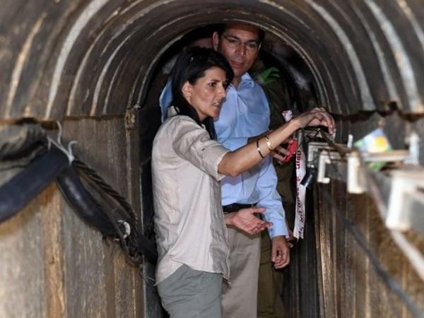 Hamas phu nhan xay dung duong ham duoi truong hoc o Gaza hinh anh 1