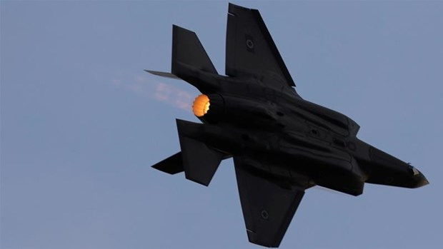 Israel khong kich cac co so Hamas o Gaza dap tra vu ban rocket hinh anh 1