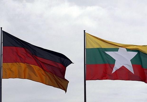 Myanmar va Duc cam ket thuc day hop tac quoc phong phi quan su hinh anh 1