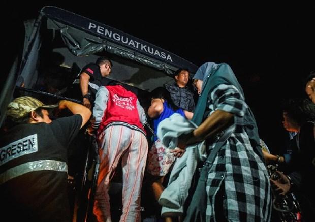 Malaysia truy quet lao dong nuoc ngoai bat hop phap tren toan quoc hinh anh 1