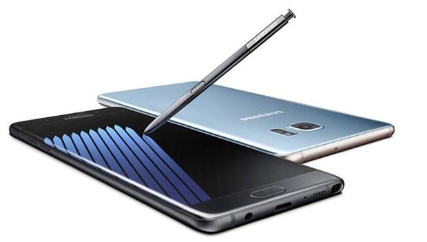 Hang Samsung ra mat ban tan trang cua dien thoai Galaxy Note 7 hinh anh 1