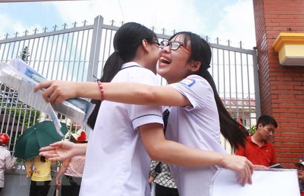 Da co the tra cuu diem thi Trung hoc pho thong quoc gia nam 2017 hinh anh 1