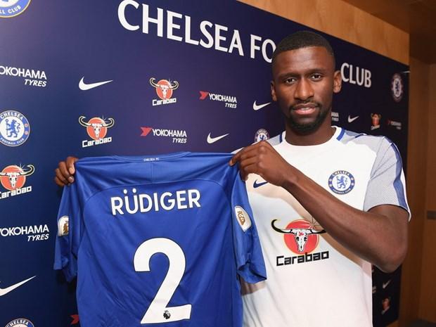 Rudiger chinh thuc gia nhap nha vo dich Premier League Chelsea hinh anh 1