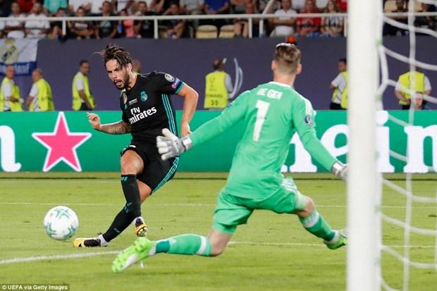Ha Manchester United, Real Madrid gianh Sieu cup chau Au hinh anh 4