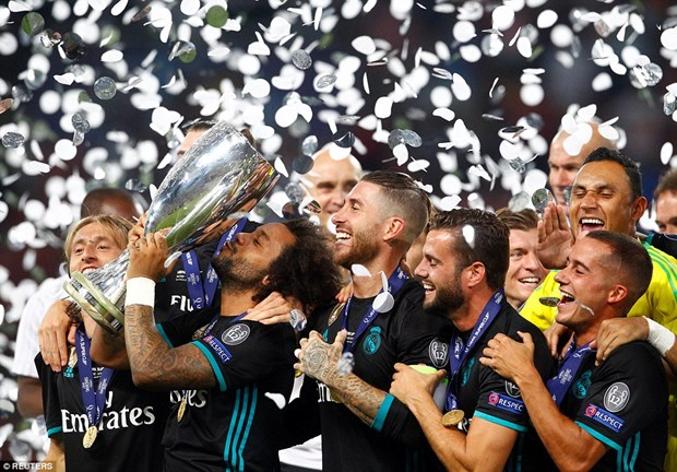 Ha Manchester United, Real Madrid gianh Sieu cup chau Au hinh anh 1