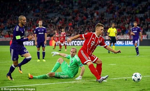 Joshua Kimmich toa sang, Bayern Munich ha guc Anderlecht hinh anh 1
