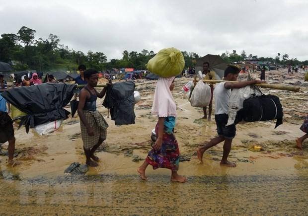Bangladesh cam cung cap phuong tien lien lac cho nguoi Rohingya hinh anh 1