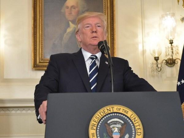 Tong thong My Trump: Luat kiem soat sung dan se duoc thao luan hinh anh 1