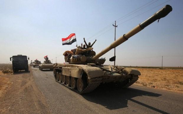 Cac luc luong Iraq da kiem soat mot so dia diem gan Kirkuk hinh anh 1