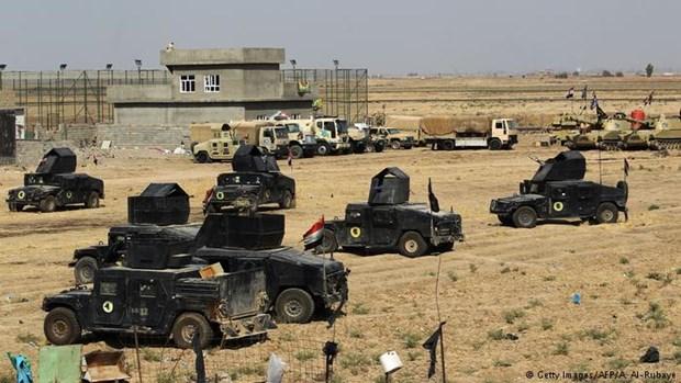 Iraq: Nguoi Kurd dong y tranh giao tranh tai co so dau mo o Kirkuk hinh anh 1