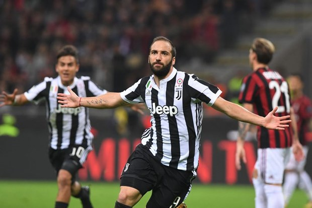 Can canh Higuain toa sang giup Juventus danh bai AC Milan hinh anh 1